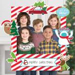 Giant Customisable Christmas Photo Frames 76cm x 88cm - 3 PKG/15