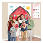 Barnyard Birthday Scene Setters with Props - 6 PKG/16