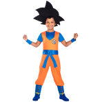 Dragon Ball Z Goku Costume - Age 8-10 Years - 1 PC