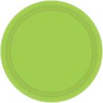 Kiwi Green Paper Plates 17.7cm - 12 PKG/8