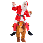 Ride-a-Reindeer Standard Adults Costume - 1 PC