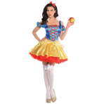 Snow White Costume - Size 10-12 - 1 PC