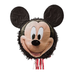 Mickey Mouse Pull Pinatas - 4 PC