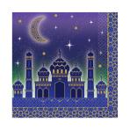 Eid Luncheon Napkins 33cm - 12 PKG/16