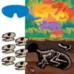 Prehistoric Party Games - 6 PKG/4