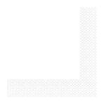 Frosty White Luncheon Napkins 33cm 2ply - 12 PKG/50