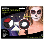 Day Of The Dead Make Up Kit - 4 PKG/9