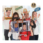 Western Photo Prop Kits - 6 PKG/12