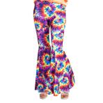 Rainbow Tie Dye Flares - Size 14-16 - 1 PC