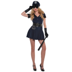 Adults Officer Rita Dem Rights Police Costume - Size 8-10 - 1 PC