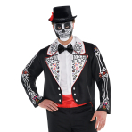 Day Of The Dead Tailcoats - Plus Size - 2 PC