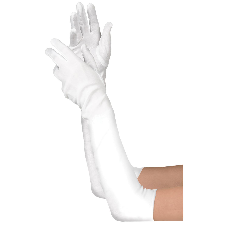 amscan Womens Black Gloves
