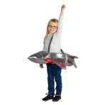 Ride on Jet Costume - Age 3+ Years - 1 PC