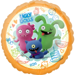 Ugly Dolls Standard HX Foil Balloons S60 - 5 PC