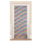 Fabric Flower Door Curtains - 6 PC