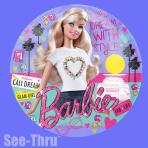 """Barbie See-Thru Foil Balloons 26""""/66cm P30 - 5 PC"""