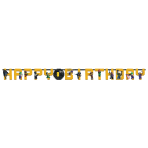 LEGO Batman Movie Add an Age Letter Banner 3.2m x 25cm - 6 PC