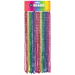 Rainbow Necklaces 76cm - 6 PKG/24