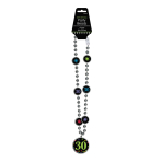 30th Bead Necklaces 76cm - 6 PC