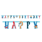 Ahoy Birthday Jumbo Add-an-Age Letter Banner Kits - 6 PKG/2
