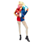 Harley Quinn Suicide Squad Costume - Size 10-12 - 1 PC