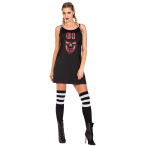 Smile Basketball Jersey Dress - Size Medium - 1 PC