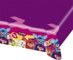 Furby Plastic Tablecovers 1.2m x 1.8m - 10 PC