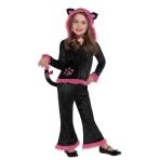 Girls Kuddly Kitty - Age 4-6 Years - 1 PC