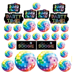 70s Disco Assorted Cutouts - 12 PKG/30