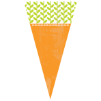 Carrot Shaped Treats Candy Cello Bags - 12 PKG/15