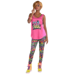 Hip Hop Leggings - Size Adults - 3 PC