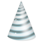 Unicorn Card Cone Hats - 5 PKG/8