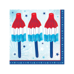 Celebrate USA Beverage Napkins 25cm - 12 PKG/36