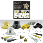 New Year's Eve Get The Party Started Kit - 2 PKG/50
