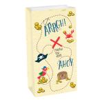 Ahoy Birthday Paper Treat Bags 12 x 24 x 7cm - 12 PKG/8