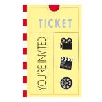 Lights! Camera! Action! Folded Invitations - 6 PKG/8