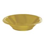 Gold Sparkle Bowls 355ml- 10 PKG/20