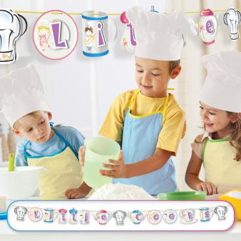 Little Cooks Pop Up Banners 2.2m x 15cm - 6 PKG