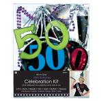 50th Birthday Party Kits - 6 PC