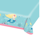 Be a Mermaid Paper Tablecovers 1.37m x 2.6m - 10 PC