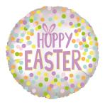 Hoppy Easter Satin Luxe Standard HX Foil Balloons S40 - 5 PC
