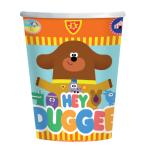 Hey Duggee Paper Cups 250ml - 6 PKG/8