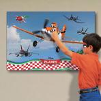 Disney Planes Party Games - Pin Dusty the Plane - 6 PKG
