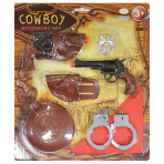 Cowboy Accessories Set - Age 3-6 Years - 1 PC
