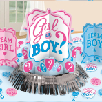 Girl or Boy Table Decoration Kit - 6 PC