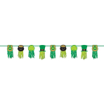 St. Patrick's Day Tissue Garlands 2.43m - 6 PC