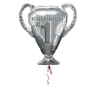 """Trophy Champion SuperShape Foil Balloons 25""""/63cm w x 28""""/71cm h P30 - 5 PC"""