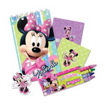 Minnie Mouse Pink Stationery Favour Packs - 6 PKG/20