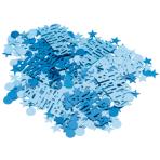 Happy Birthday Blue Sparkle Metallic Confetti 15g - 12 PC