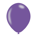 "Metallic Violet Latex Balloons 11""/27.5cm - 10PKG/10"